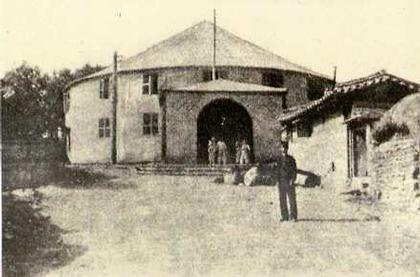최초의 연극이 공연된 극장 원각사. 윤백남이 조직한 문수성의 전속극장이였지만 화재로 소실되었다. 최초의 연극이 공연된 극장 원각사. 윤백남이 조직한 문수성의 전속극장이였지만 화재로 소실되었다.